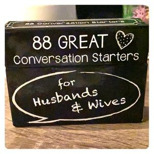 88 GREAT Conversation Starters for husband&Wives